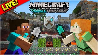 [LIVE] Minecraft Console Edition - NEW Tumble Mini-Game First Experience (Console Edition)