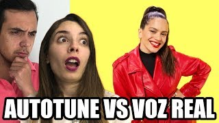 Download CANTANTES: AUTOTUNE VS VOZ REAL ¿COMO SUENAN? CON LYNA (ROSALIA, LUIS FONSI...) Mp3 and Videos