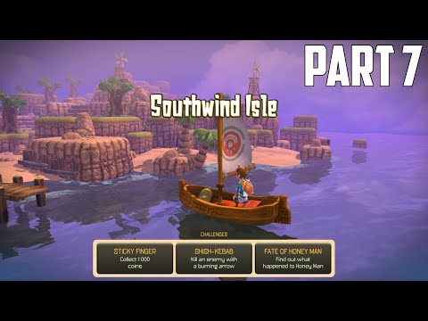 Oceanhorn: Monster Of Uncharted Seas - 100% Walkthrough Part 7 [PS4] –  Southwind Isle