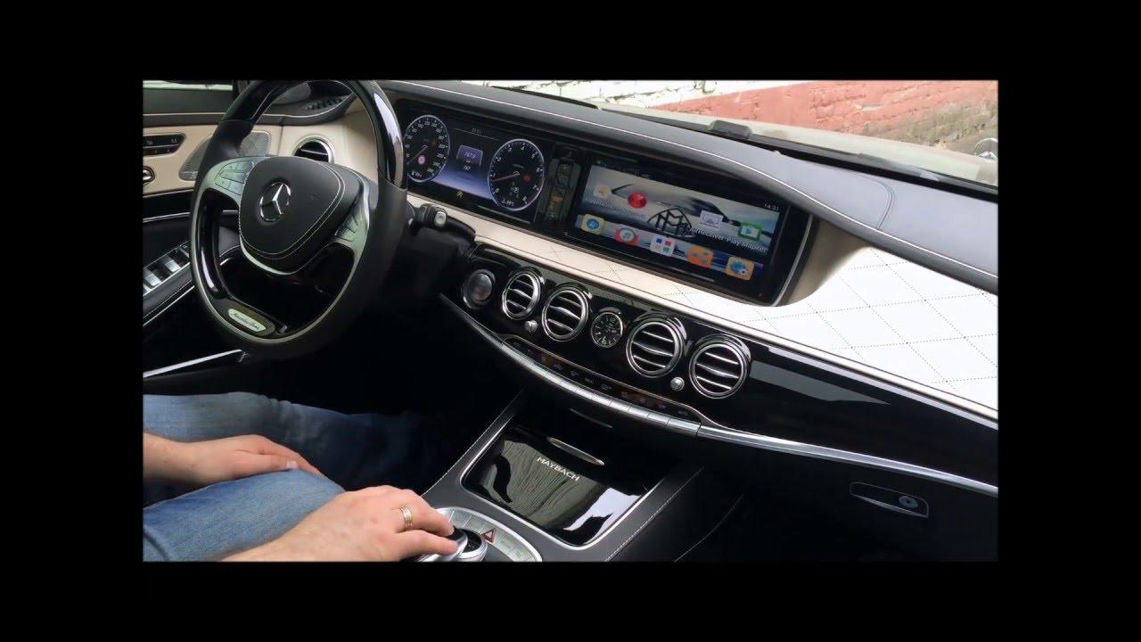 Mercedes W222 / Maybach X222 - Комплекс видеофиксации