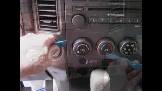 Nissan Titan Stereo Removal 2004 - 2008