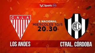 Los Andes vs Central Cordoba full match