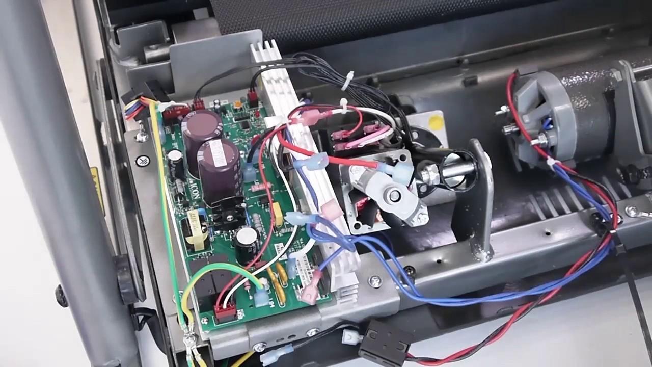 comment changer le moteur sur les tapis de course tc2 et tc3