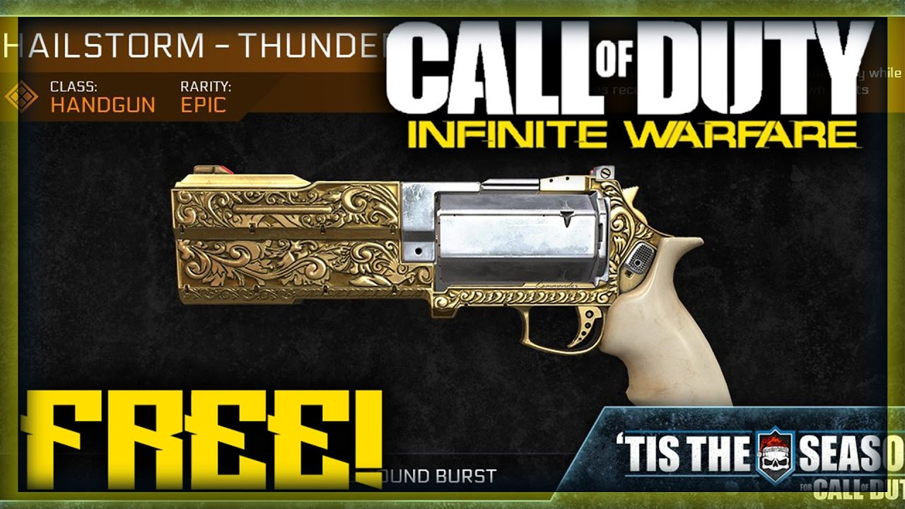 Infinite Warfare - FREE EPIC GUN & 12 DAYS OF WINTER EVENT ...