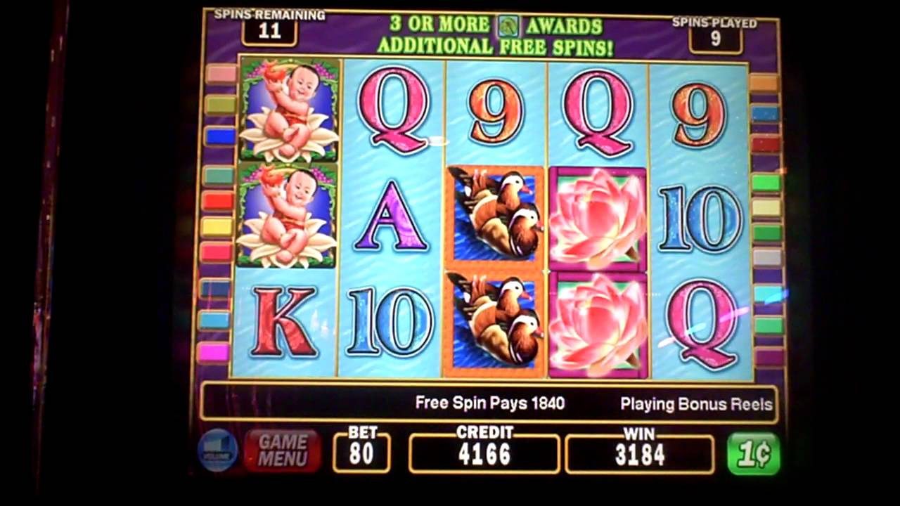 Lotus Flower Slot Machine Game