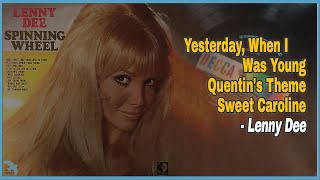 Lenny Dee - Yesterday, When I Was Young / Quentin's Theme / Sweet Caroline (1969)