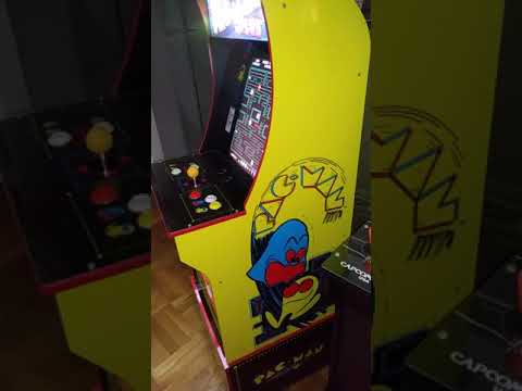Arcade1Up Sound problem follow up vid 🔊🔊 (QVC) Pac-Man Plus 3/4 cab from TboneNY10