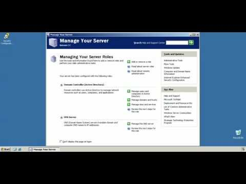 Windows Server 2003 Enterprise Edition - Cluster Install