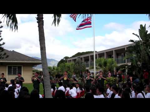 Lincoln day at Ewa Elementary School-Oscar