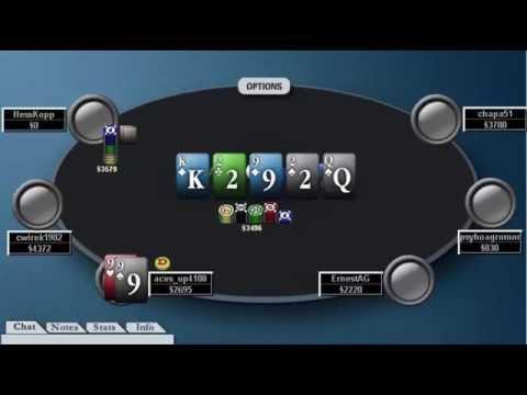 Tournament Poker Advanced Strategy 2 | 100 Rebuy P1 | MTT Review