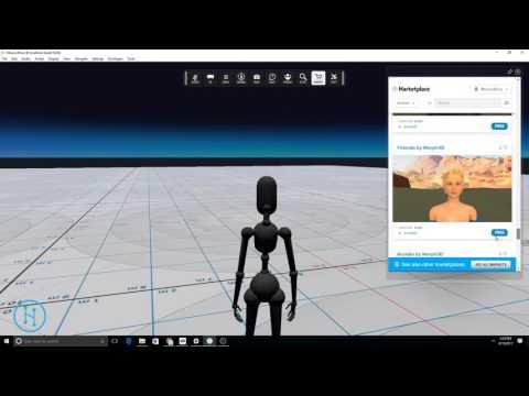 Create Your Own Avatar — High Fidelity Documentation