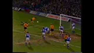 Ipswich Town v Wolves, FA Cup 5th Round Replay, 2nd March 1994