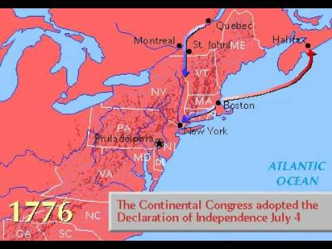 Grolier Multimedia Maps: The American Revolution