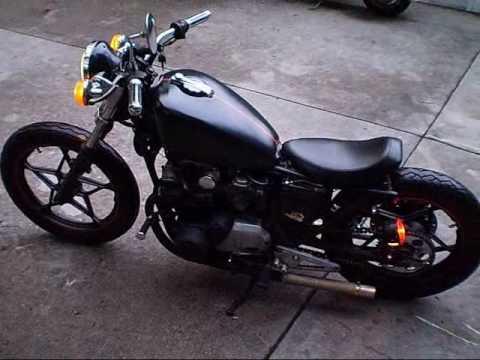 suzuki gs 650 bobber kit | sugakiya motor