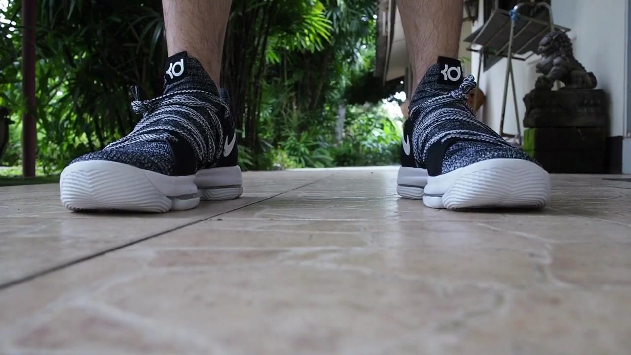 best loved c3ba7 a31ed Nike KD X on feet