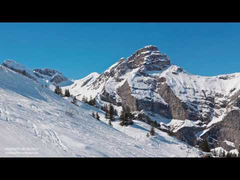 Architectural CGI Animation, Malchtal Resort, Switzerland