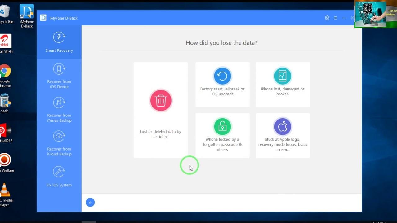 Imyfone ios recovery per windows scaricare