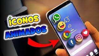 ÍCONOS ANIMADOS en tu celular android   WALLAS DA SILVA screenshot 3