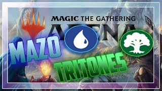 MAZO DE BUFAR TRITONES! EPICO! | Magic: The Gathering Arena gameplay beta Español