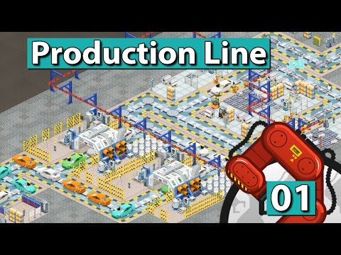 PRODUCTION LINE ► Der AUTO FABRIK SIMULATOR #1