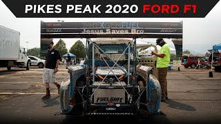 homepage tile video photo for PIKES PEAK 2020 | SCOTT BIRDSALL | NEW DIESEL WORLD RECORD FULL RUN | #TOYOTIRES | [4K]