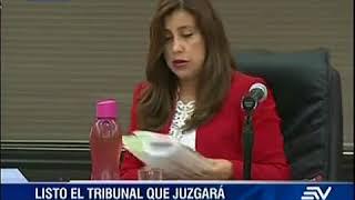 Corte sortea Tribunal que juzgará a Glas thumbnail