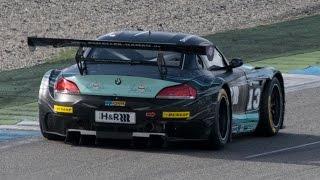 BMW Z4 GT3 - Loud V8 Sound