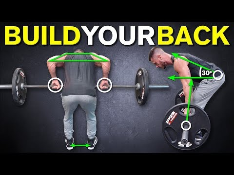 The Perfect Barbell Row Technique for BACK THICKNESS