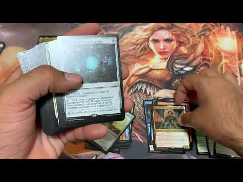 MTG Magic The Gathering Commander 2019 Mystic Intellect Box Opening