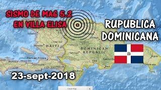SISMO DE MAGNITUD 5.2 EN MONTE CRISTI REPÚBLICA DOMINICANA
