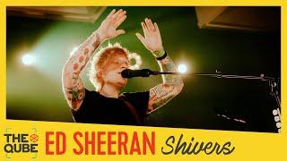 Ed Sheeran - 'Shivers' (live bij Qmusic)