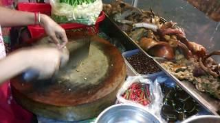 Meat video Asian street