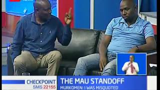 Kipchumba Murkomen explains his comments on Mau evictions (Part 2)
