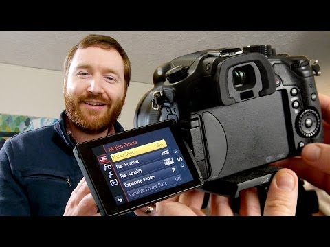 How to set up your new Panasonic GH4 for Filmmaking