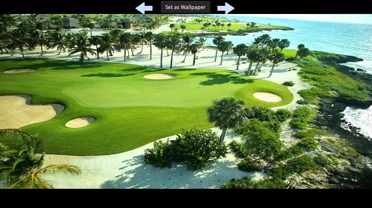 Golf Course Wallpapers For Android Tablet Youtube