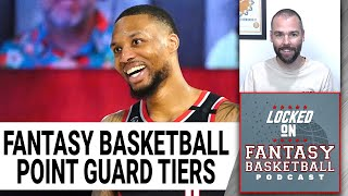 Fantasy Basketball Tiers   Point Guard Rankings