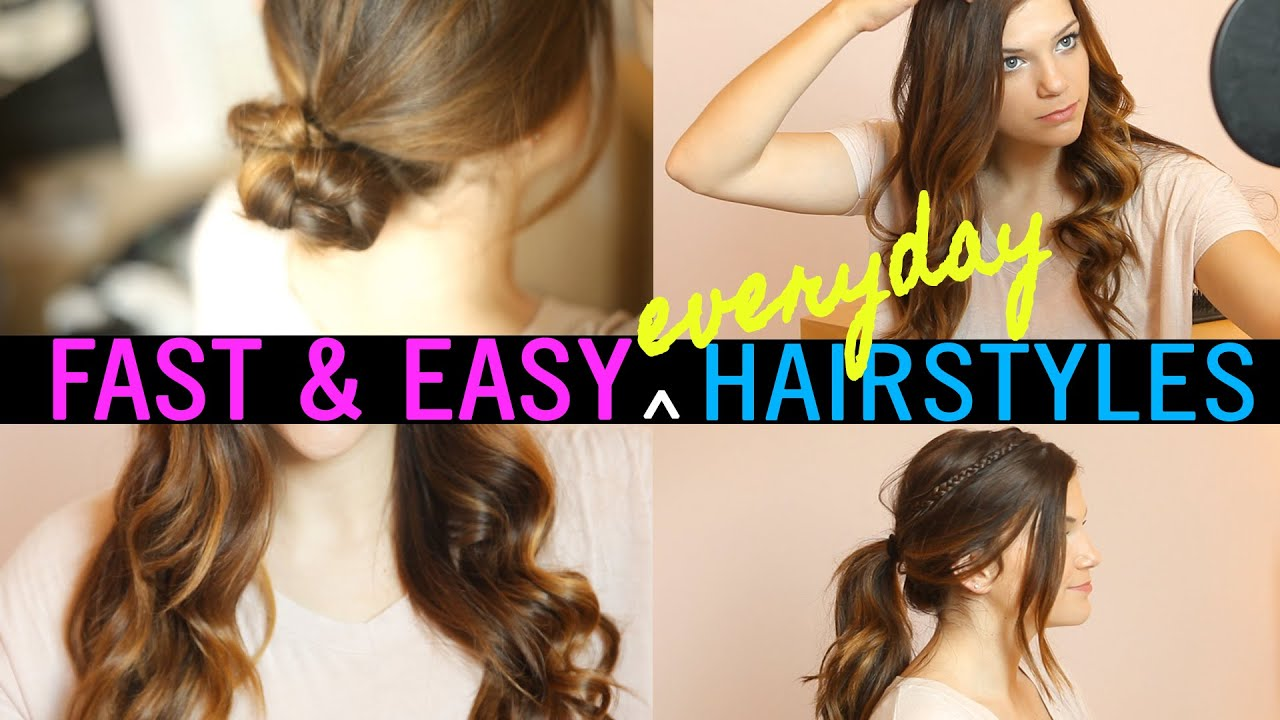 fast & easy everyday hairstyles with monica church // i love makeup.