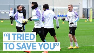 MAN CITY TRAINING | Pre Spurs v City