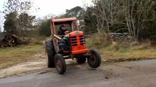 Tracteur Racing Moteur volvo ( Tracteur fou )