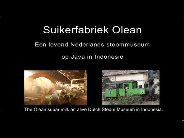 Sugar mill Olean, Dutch spoken and English subtitles