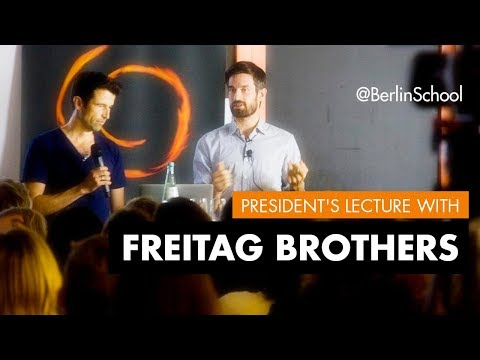 President's Lecture Freitag Brothers