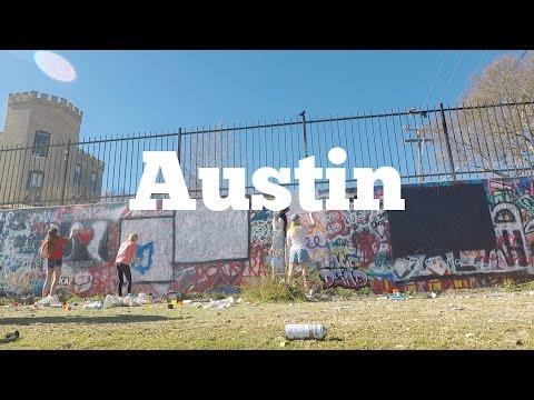 Austin's Best Street Art And Swimming Holes