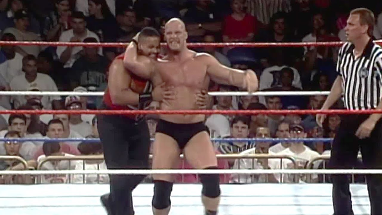Stone Cold Steve Austin Debuts The Stunner WWE Superstars June 17 1996
