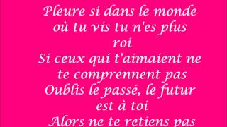 Pleure Paroles