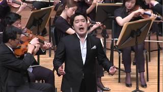 Ten. Konu Kim,  'Una furtiva lagrima' from L'elisir d'amore by Donizetti