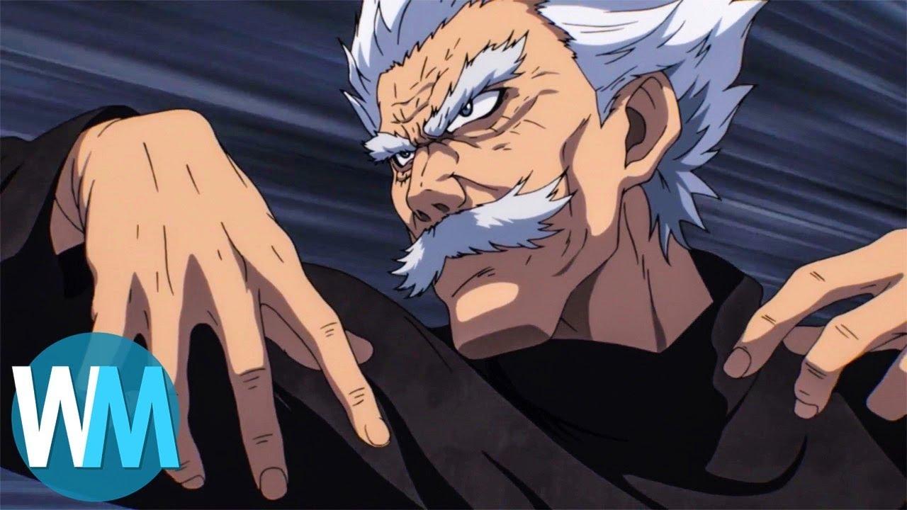 Martial arts anime list