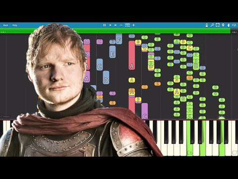 IMPOSSIBLE REMIX - Hands Of Gold - Ed Sheeran - Game Of Thrones Song - Piano Cover