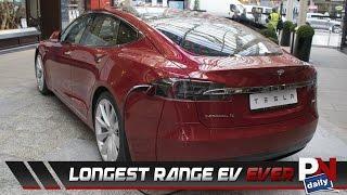 Tesla Breaks The Record Of Longest-Range Electric Vehicle