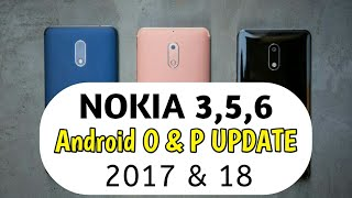 Nokia 3,5,6 Android O Oreo And Android P Confirmed By HMD GLOBAL | Techno Rohit |