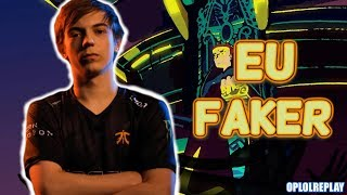 Why Caps Is Now The Faker Of EU? - 2018 Summer Montage